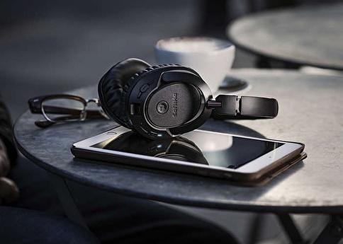 Philips SHB7250 Kablosuz Bluetooth Kulaklık Siyah